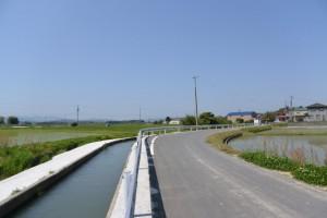 須田公民館付近(明和町馬之上)〜麻續神社(明和町中海)