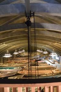 船の収蔵庫(海の博物館)