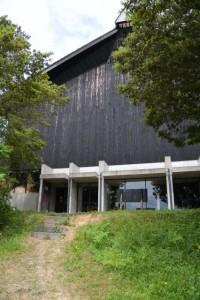 浦村大吉(おぎつ)湾から展示B棟(海の博物館)へ