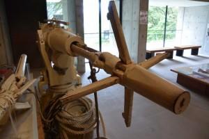 捕鯨砲(海の博物館)