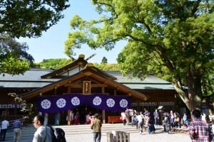 御田植祭の後(猿田彦神社)