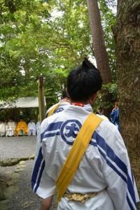 神田御田植初 祝入り(ほがいいり)(大土御祖神社)