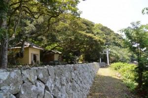阿古師神社付近(熊野市甫母町)