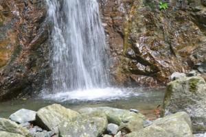 川上山若宮八幡神社の「みそぎ滝」(津市美杉町川上)