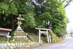 國津神社(津市美杉町太郎生)