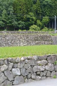 観音寺付近の石垣(多気町車川)