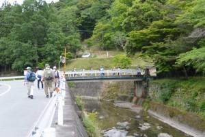 油田公園付近(多気町車田)