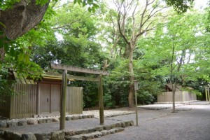 草奈伎神社、大間国生神社(ともに豊受大神宮 摂社)