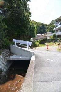 姫小橋(国道23号)から西へ