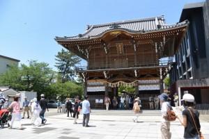 桑名宗社(春日神社)の楼門