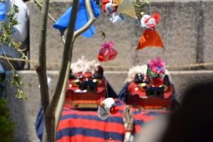 八幡神社獅子舞(桑名七里の渡し場 伊勢国一の鳥居 お木曳)