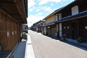 東海道関宿 東追分一の鳥居竣工式、くぐり初め式へ