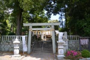 関(關)神社(亀山市関町木崎)
