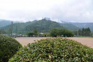 度会町ふるさと歴史館(旧小川郷小学校)前からの風景