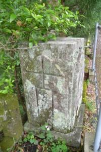 古河橋の親柱