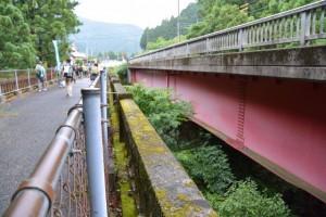 古河橋と古川橋(県道22号)