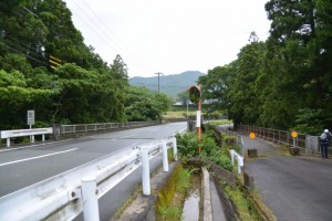 古川橋(県道22号)と古河橋