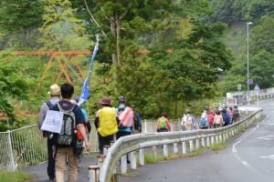 SANCO 古河橋 バスのりば〜日向橋(県道22号)