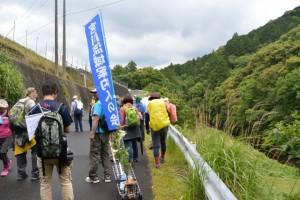 旧天祥橋(一之瀬川)〜火打石への分岐