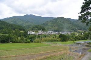 慈眼寺(度会町火打石)付近からの眺望
