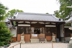 神館神社(桑名市江場)