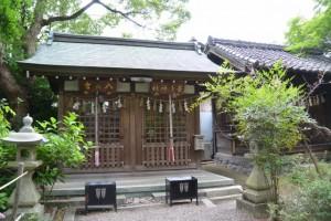 八天宮、菅原神社(立坂神社)