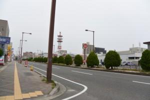 国道1号(桑名市新矢田)