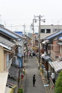 御木曳き祭のために準備される石取祭車(桑名市赤須賀)