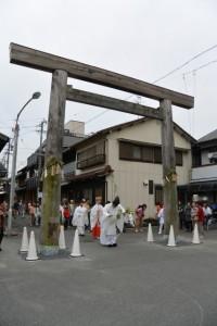 赤須賀神明社の御木曳き祭(桑名市赤須賀)