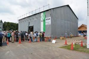 第11回斎宮復元建物工事見学会(明和町斎宮)