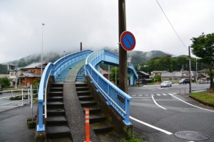 国道23号 中村町北交差点に架かる中村歩道橋