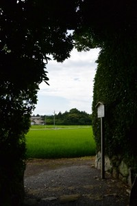 湯田神社(皇大神宮摂社)からの眺め