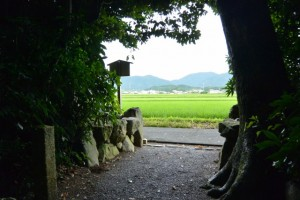 朽羅神社(皇大神宮摂社)からの眺望