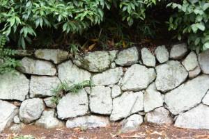 蚊野神社(皇大神宮摂社)の石垣