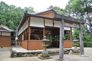 東外城田神社(玉城町蚊野)