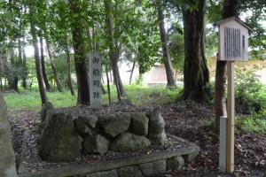 御船殿跡、田宮寺神社(玉城町田宮寺)