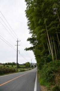 勝田大池付近から奈良波良神社(皇大神宮摂社)へ