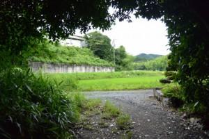 奈良波良神社(皇大神宮摂社)付近