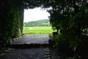 奈良波良神社(皇大神宮摂社)からの眺望