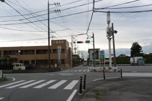 県道13号 佐田交差点