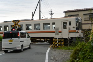 JR参宮線 三ツ桝踏切