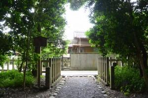 狭田国生神社(皇大神宮摂社)からの風景