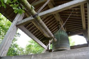 大得寺の鐘楼(玉城町田丸)