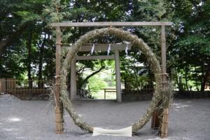 茅の輪(船江上社)