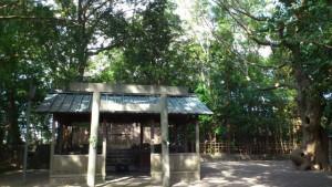 橘神社(伊勢市黒瀬町) 2013年11月01日時点