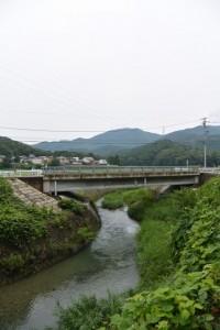 雨渕川と県道719号