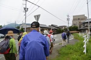 SANCO フリー栄団地 バスのりば〜横輪川左岸堤防