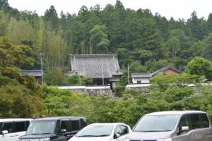 郷の恵・風輪の駐車場から望む桂林寺