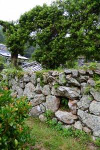 木間々な美術館付近の風穴(伊勢市横輪町)