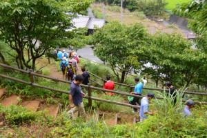 宮山からの下山